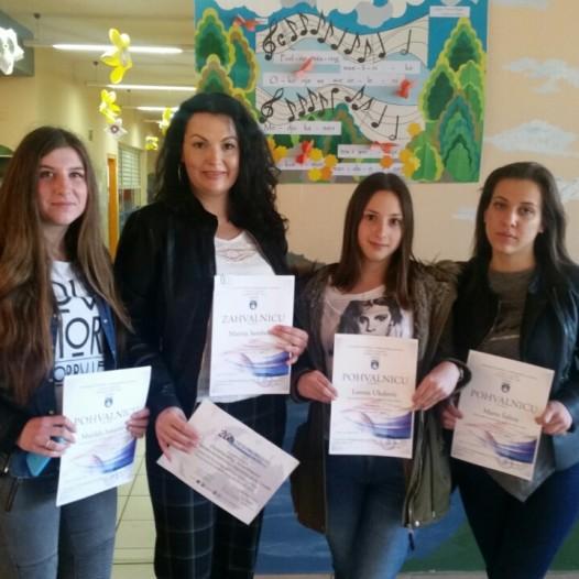 Globovci naše škole osvojili 2. mjesto na Međužupanijskoj GLOBE smotri