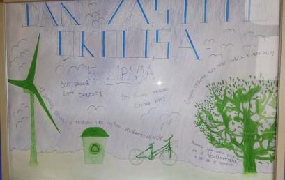 """Obilježili smo Svjetski dan zaštite okoliša 05. lipnja:  """"Borba protiv zagađenja plastikom"""""""