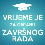 RASPORED OBRANE ZAVRŠNOG RADA u ljetnom roku šk. god. 2017./2018.