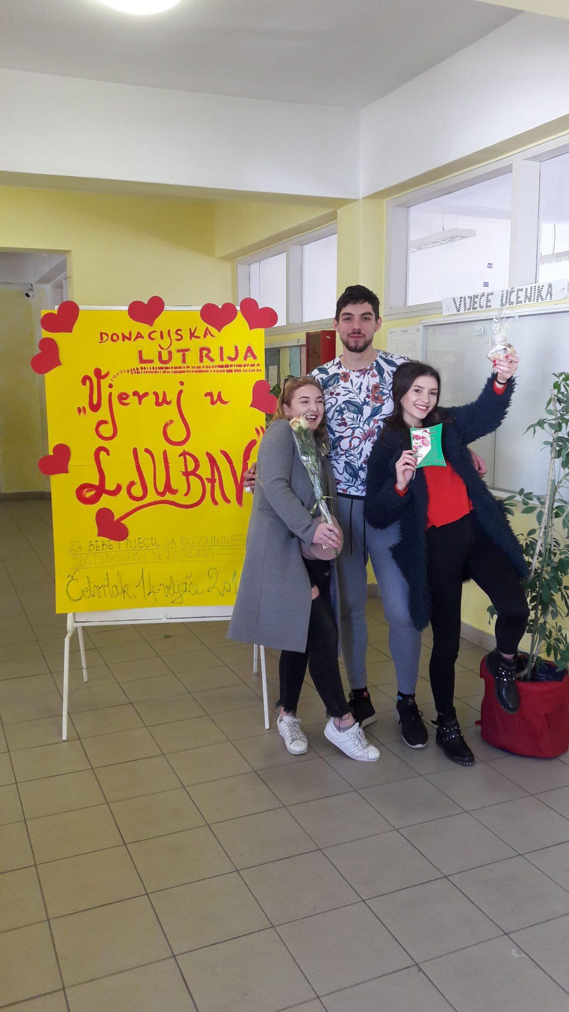 """Donacijska lutrija """"VJERUJ U LJUBAV"""""""