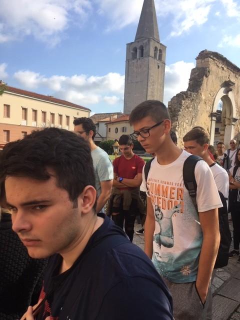 Ekonomsko – birotehnička i trgovačka škola na nagradnom izletu u Istri