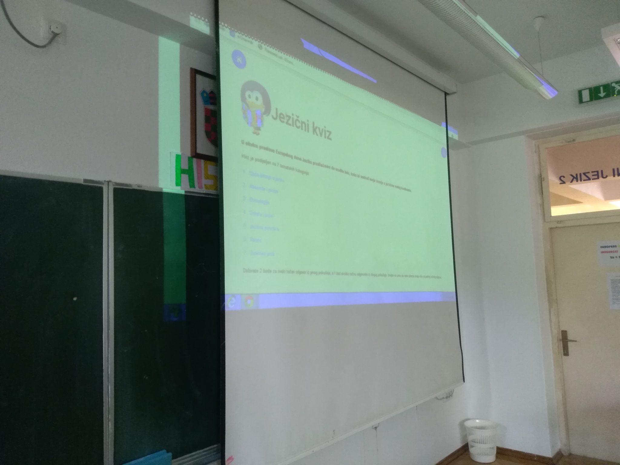 Europski dan jezika u Ekonomsko–birotehničkoj i trgovačkoj školi Zadar