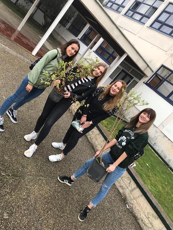 EBTŠ u akciji kolektivne sadnje drveća