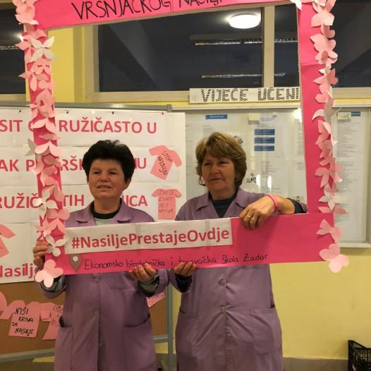 Dan ružičastih majica u EBTŠ