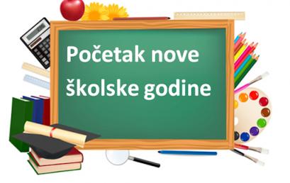 OBAVIJESTI o početku nastave u šk. god. 2021./22.