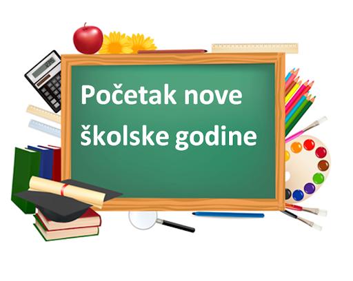 OBAVIJEST – PRVI DAN NASTAVE u šk. god. 2020./21.