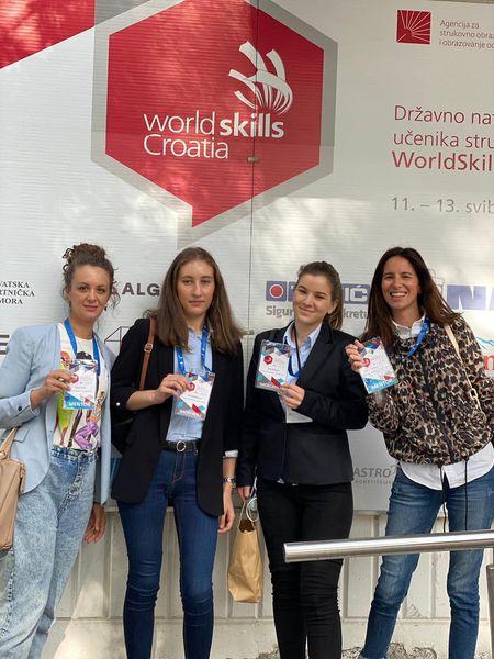 Naši učenici sudjelovali na natjecanju WorldSkills Croatia