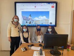 Učenice Ekonomsko birotehničke i trgovačke škole sudjelovale su na 8. simuliranoj sjednici Hrvatskog sabora za učenike srednjih škola